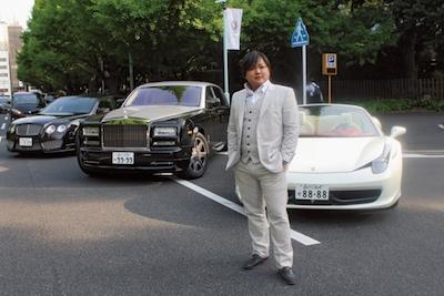 与沢翼 愛車