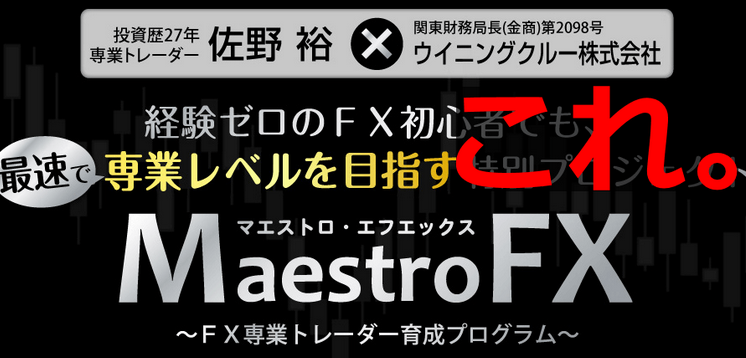 マエストロFX 評判